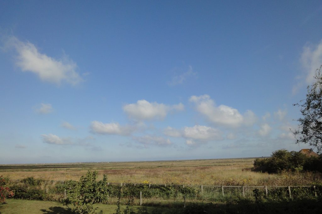 View from Blakeney holiday let